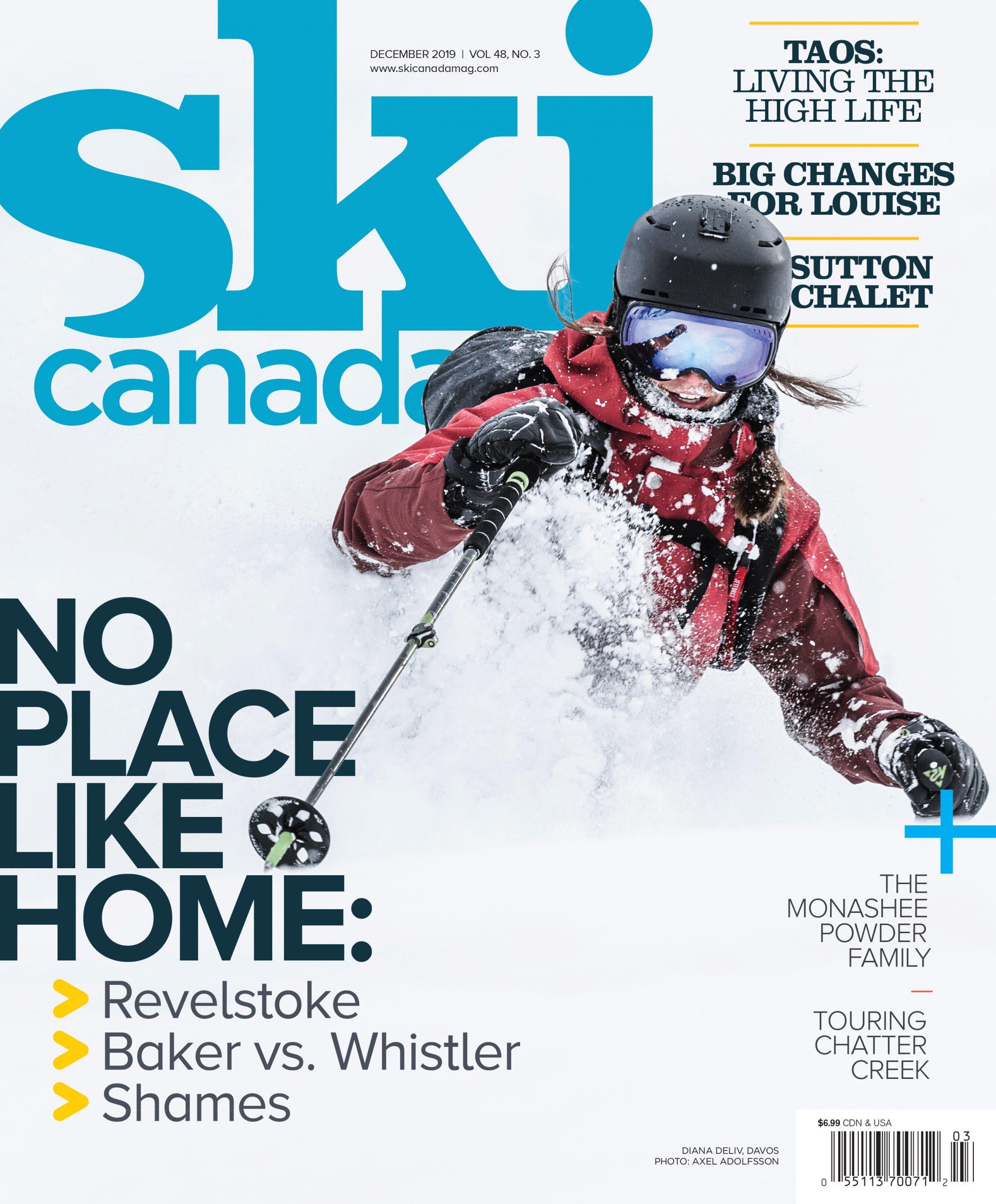 Ski Canada cover